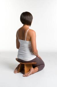 Yoga sur chaise - méditation