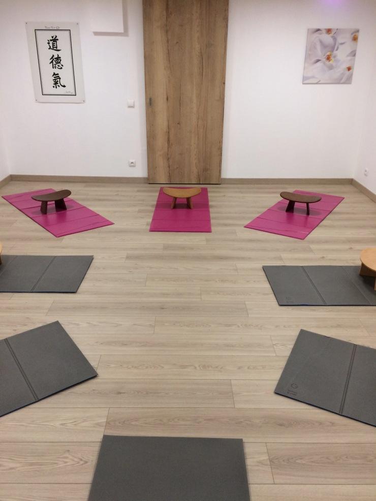 salle de yoga de Samara Heiligenstein Dojo